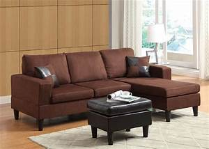chocolate microfiber sectional sofa with ottoman 15900 With chocolate sectional sofa with ottoman