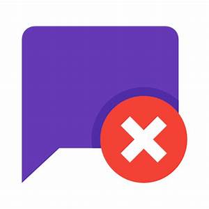 Delete Message Icon - Free Download at Icons8