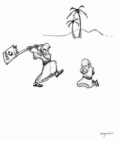 Winner Muhammad Contest Draw Cartoon Geller Pick