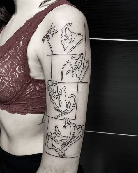 The flower motifs trope as used in popular culture. Image result for pink floyd tattoo the wall flowers | Pink ...