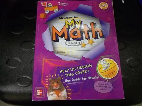 Mcgrawhill My Math Vol 2, Grade 5 Inc Mcgrawhill Companies 9780021161966 Amazoncom Books