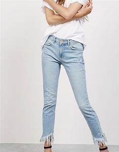 Jean Effiloché En Bas : jean coupe skinny taille regular bas effiloch null bershka france s h o p p i n g r e n t ~ Dallasstarsshop.com Idées de Décoration
