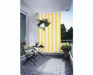 Senkrecht sonnensegel gelb weiss 230x140cm bei hornbach kaufen for Markise balkon mit tapeten hornbach baumarkt