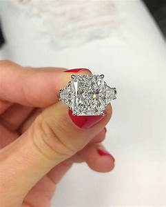 radiant cut 3 engagement ring ring concierge