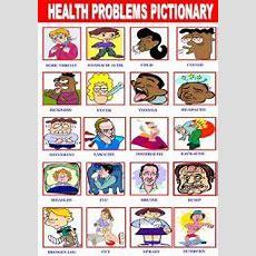 English Exercises Health Problems
