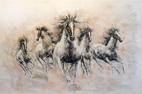 afbeelding bloemen met dier dieren schilderij 80cmx120cm 45010an6858