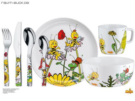 Biene Maja Kinderbesteck Und Porzellan 7teilig Auerhahn