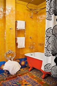 20, Stylish, And, Relaxing, Bohemian, Bathroom, Designs