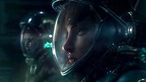 science fiction, Digital art, Space, Suits Wallpapers HD ...