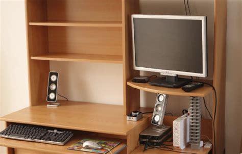 bureau pour pc fixe meuble bureau ordinateur occasion clasf