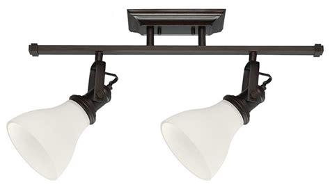 Bathroom Vanity Track Lighting - 2 light track lighting kit transitional bathroom