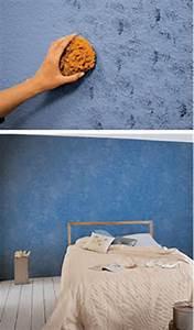 Wand Streichen Schwammtechnik : streichen und tapezieren verwandeln ~ Markanthonyermac.com Haus und Dekorationen
