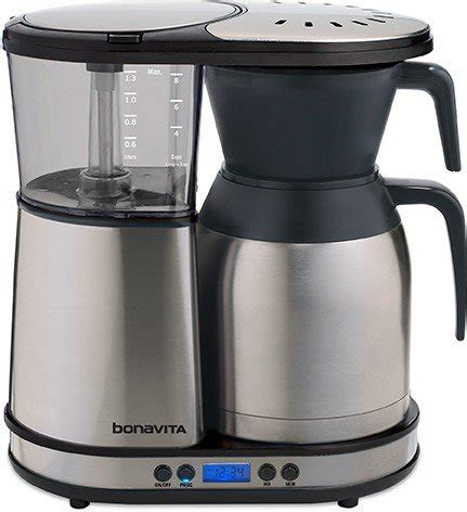 The bonavita bv1800ss cements its place as one of the best drip coffee makers in this price range by using high quality components that are built to last. 11 Best Drip Coffee Makers For Every Budget: Guide and Reviews