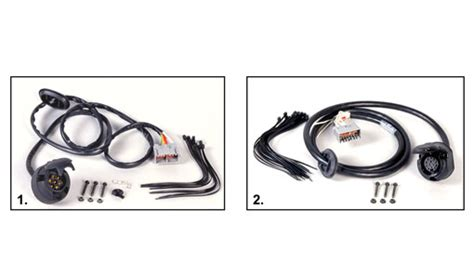 Volvo Wiring Harness Towbar Basic Kit