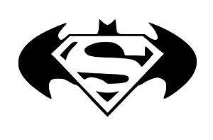 Icon Boat Justice League by Batman Superman Logo Racing Car Symbol Funny Bumper