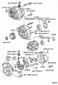 Toyota Corolla Reman Alternator  Usa  Delco  Battery