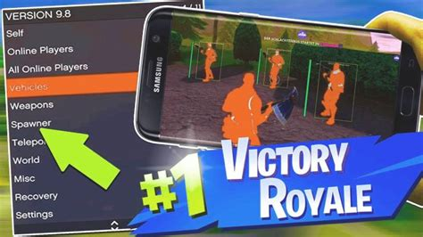 fortnite mobile hacks aimbots wallhacks  android