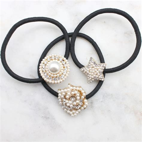 ponytail pearl holders holder perfect
