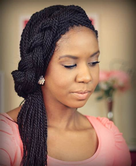 Twist Hairstyles Pictures by 49 Senegalese Twist Hairstyles For Black Stayglam