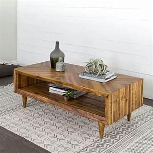 alexa reclaimed wood coffee table west elm With reclaimed pine wood coffee table