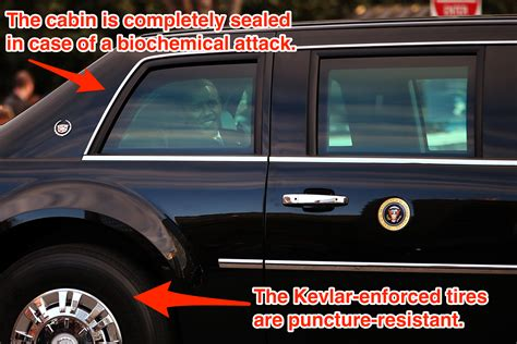 s cadillac the beast is more like thank than car there is no car like the us president s armoured limo