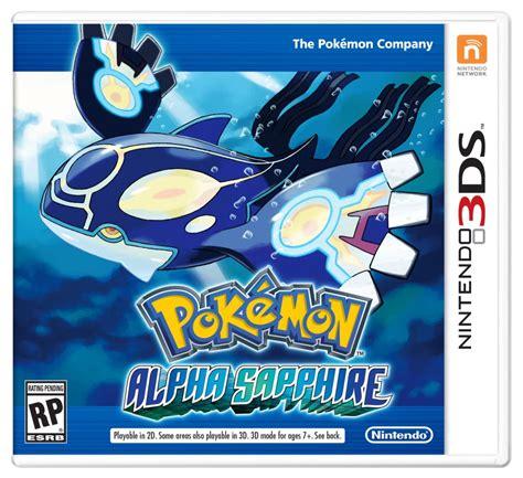 pokemon omega ruby pokemon alpha sapphire announced