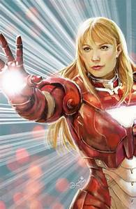 Pepper Potts - Iron Man 3 | Iron Man Fan Art | Pinterest ...