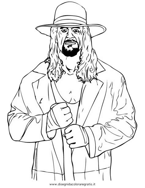 Cena Kleurplaten by Coloring Pages Of Undertaker