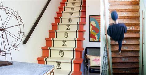 tappeti per scale idee creative per decorare le scale con pattern colori e