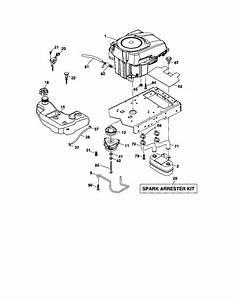 Craftsman Model 917287480 Lawn  Tractor Genuine Parts