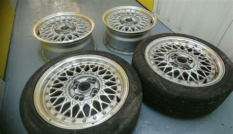 lenso bsx 4x100 lenso bsx 15x7 4x100 4x108 alloy wheels 2 tyres vw vauxhall renault ford stance in bury
