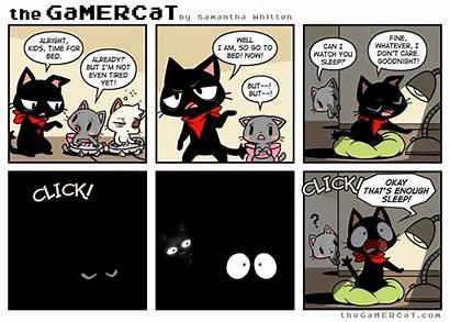 Gamercat Gamer Cat Dream Comics Cauchemardesque Nuit