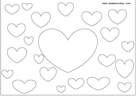 il disegno per i bambini disegni di san valentino da stare e colorare per