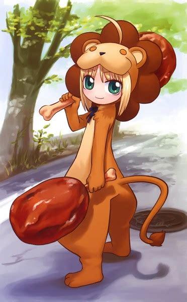saber lion saber fatestay night zerochan anime
