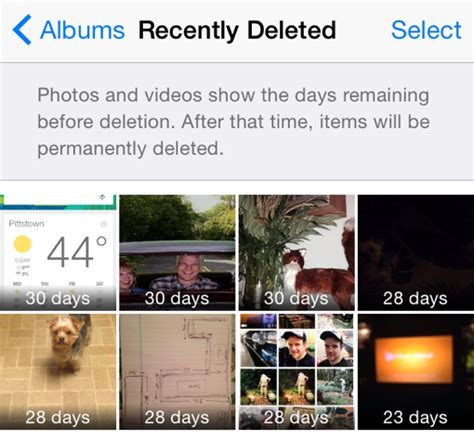 recently deleted photos iphone how to fix apple ios 8 s most annoying features techlicious Recen