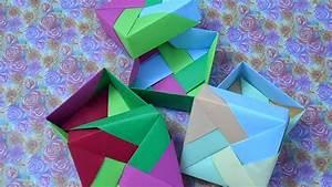 Comment Faire Une Boite En Origami : comment faire une boite en papier 13 youtube ~ Dallasstarsshop.com Idées de Décoration