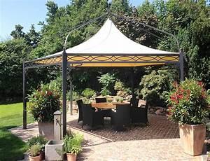 Pavillon Metall Wetterfest : luxus gartenpavillon aus metall ~ Watch28wear.com Haus und Dekorationen