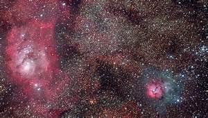 Lagoon Trifid Nebula - Pics about space