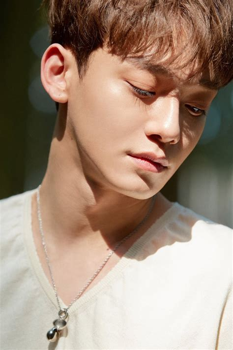 exos chen reveals  dreamy teaser images  solo