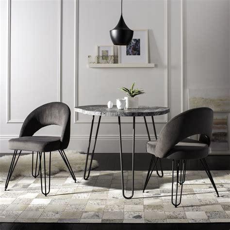 safavieh dining room chairs fox6296b set2 dining chairs furniture by safavieh