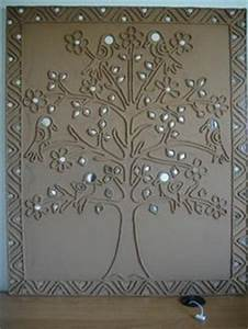 1000 images about mud work on pinterest mud mirror With best brand of paint for kitchen cabinets with ganesh wall art online india