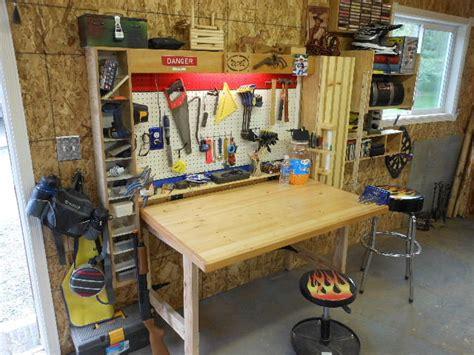 fold down workbench by redryder lumberjocks com