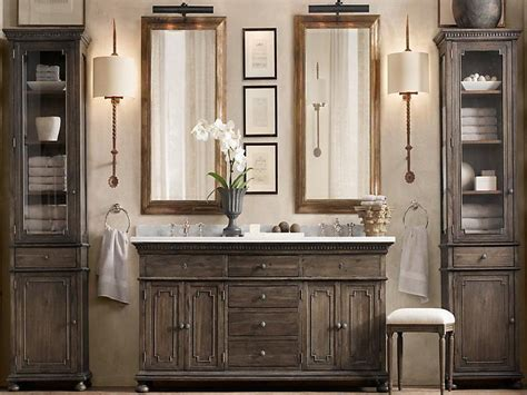 Bathroom Vanities Restoration Hardware Double