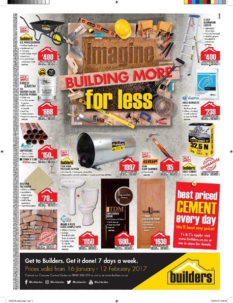 builders warehouse catalogue 16 january 12 february 2017