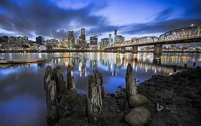Portland Wallpapers Skyline