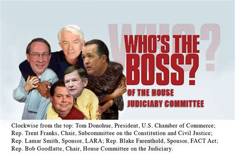 whos  boss   house judiciary committee