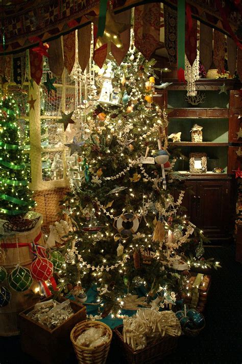 the christmas shop trees theme ornaments and holiday
