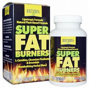 Natural Balance  Super Fat Burners  120 Veggie Caps