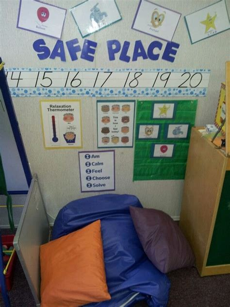 classroom safe place clever classroom ideas anger