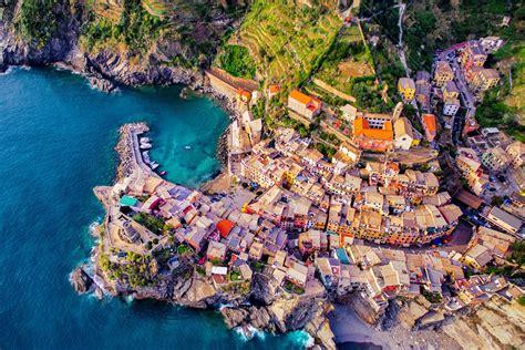 Vernazza Cinque Terre Italy Dronestagram